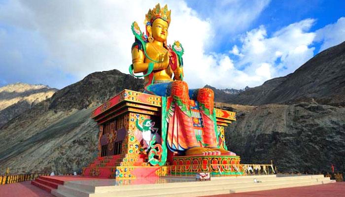Diskit-Monastery-nubra-valley-ladakh
