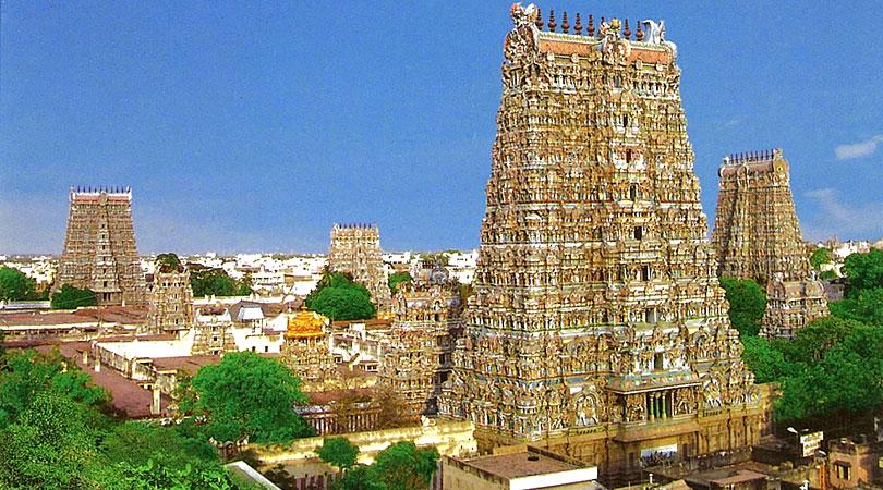 minakshi-aerial-temple-view