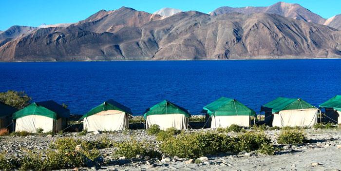 pangong-lake-tent-house-jammu-kashmir