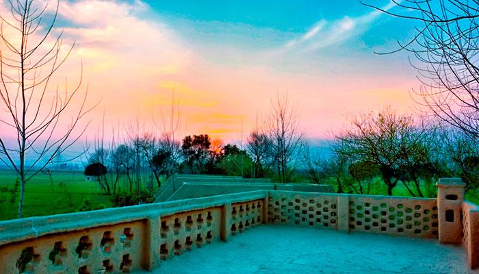 sunset-at-punjabiyat-amrisar