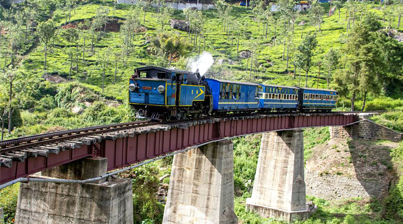 journey to a hill station by train