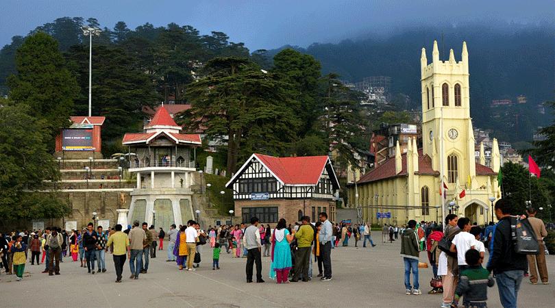 ridge-shimla