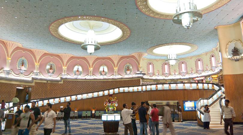 Raj_Mandir_Cinema-construction