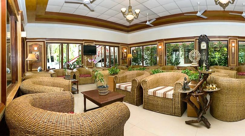 ideal-beach-resort-mamallapuram-lobby
