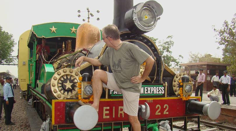 Steam Engine Train Tour India