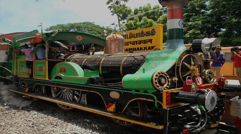 Steam Engine Train Tour