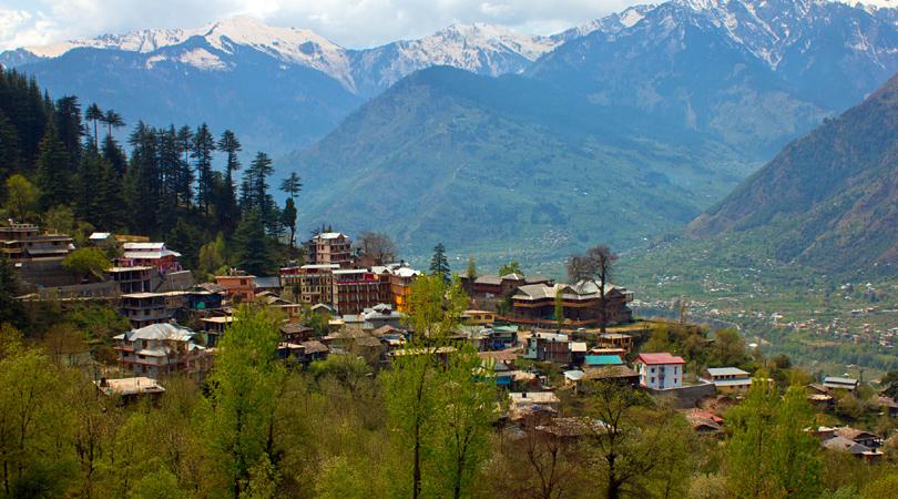 naggar-town-india
