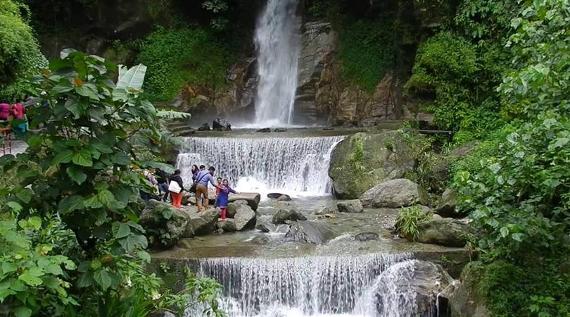 seven-sister-waterfalls -in-gangtok