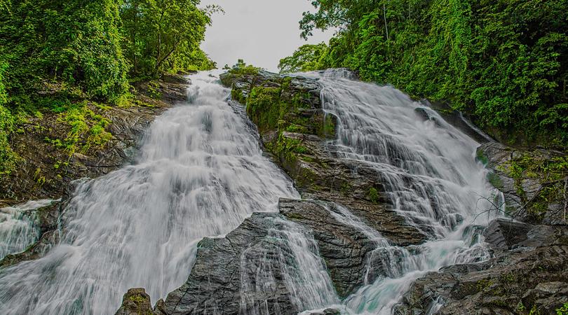 Charpa Falls-india