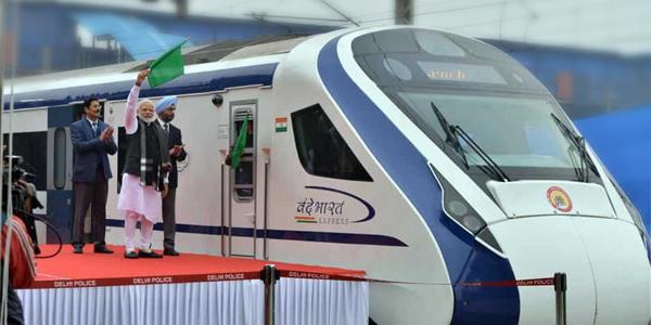 India's Fastest Train Vande Bharat Express