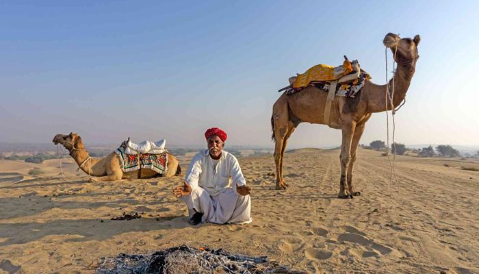 Camel Safari in Osian, Jodhpur