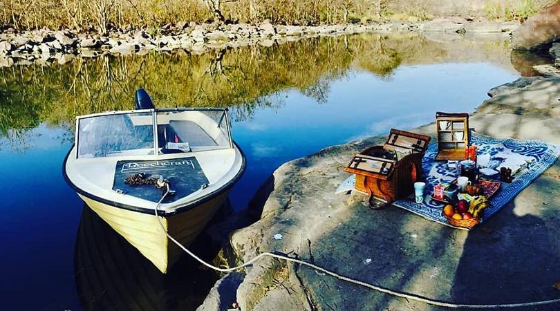Motorized Boat Riding
