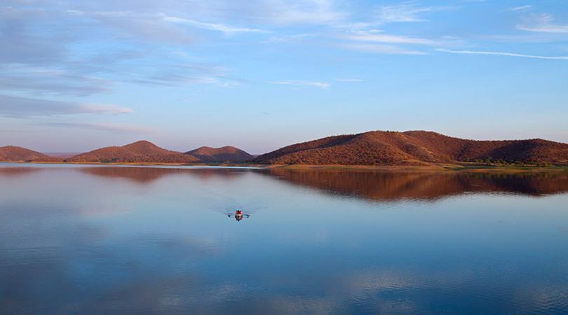 kalisil lake - ramthara fort