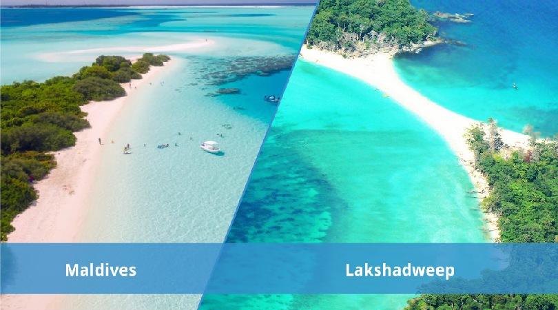 Islands Of Lakshadweep VS Islands Of Maldives