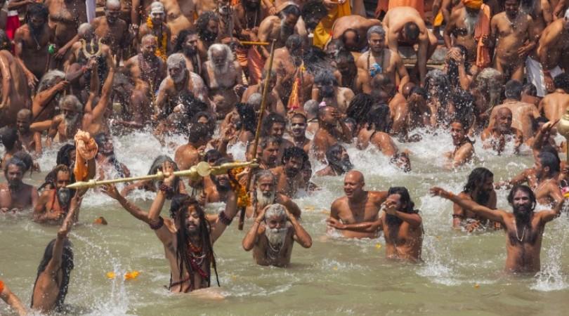 Ritual Bath Haridwar