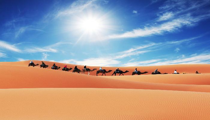 Deserts In India